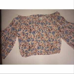 Flowered top!